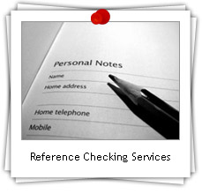Online and Verbal Reference Checking Services